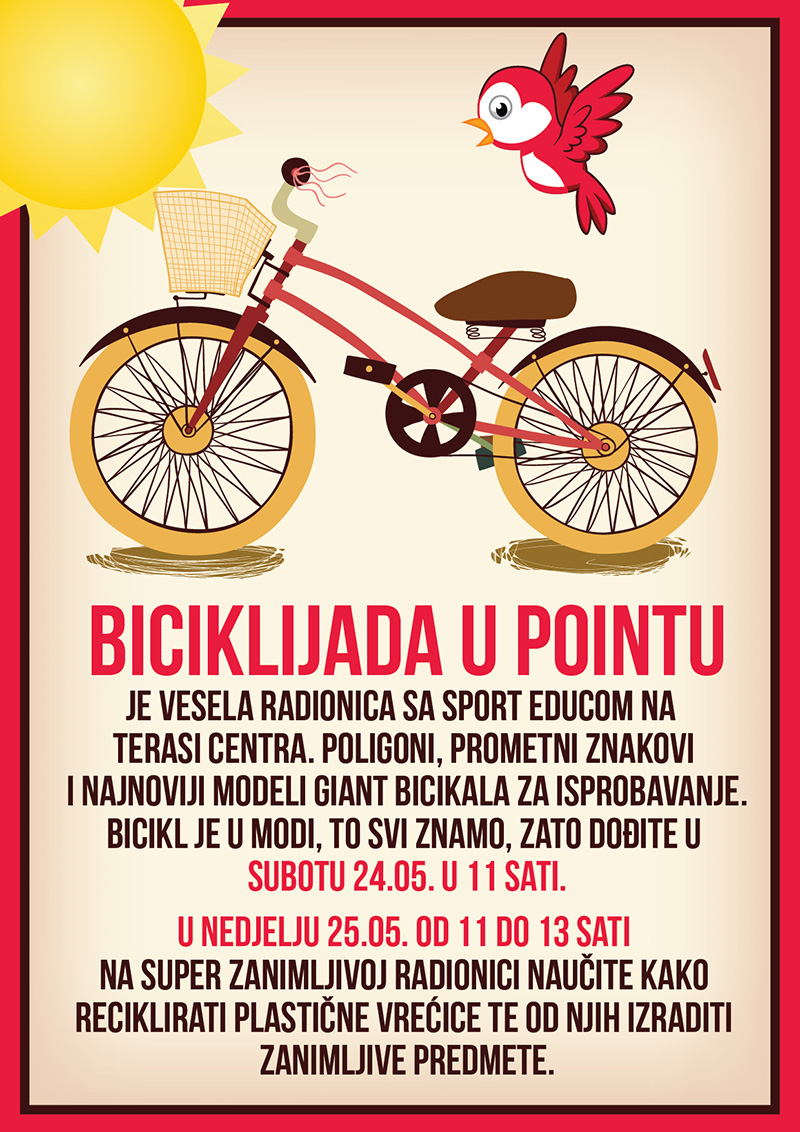 Vrhunska zabava za klince - Sport Educa u Point Shoping Centru