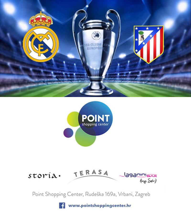 Finale Lige Prvaka na terasi Pointa