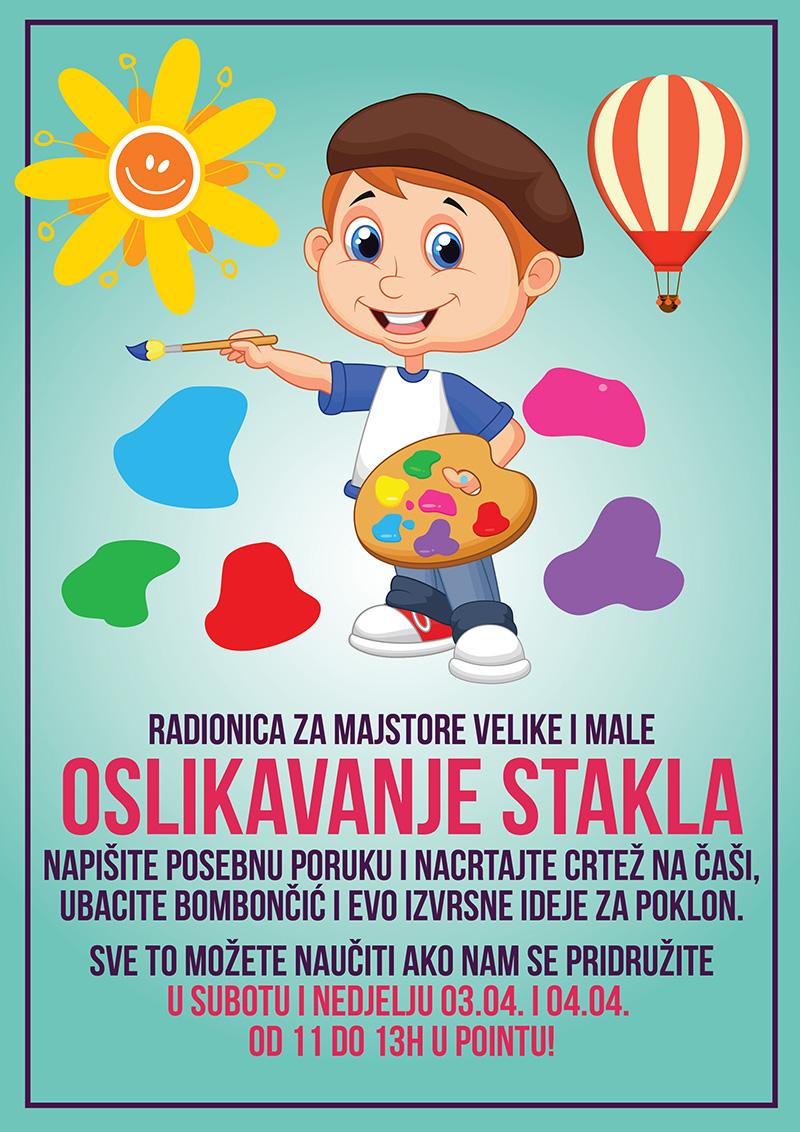 Dječji klub POINT i ovog vikenda pripremio je zanimljive dječje radionice!