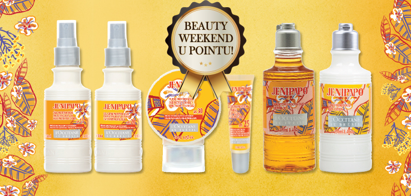 Beauty weekend i u L'occitane prodavaonici!