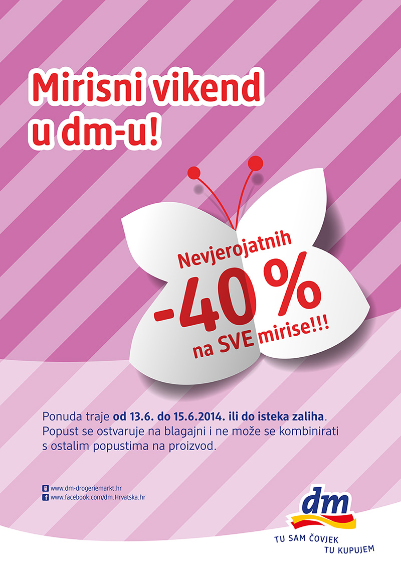 Mirisni vikend u dm-u!