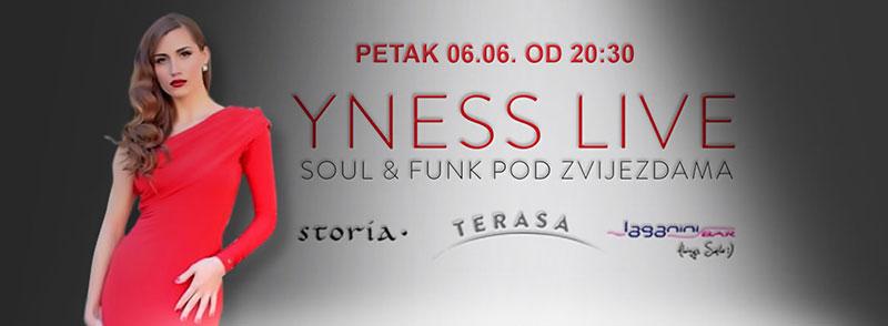Yness - Live soul & funk večeri pod zvijezdama