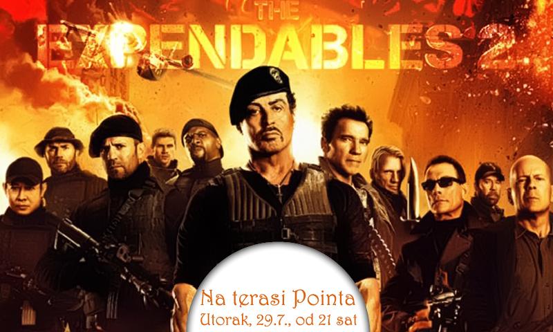 Večeras projekcija prvog filma 'The Expendables 2'