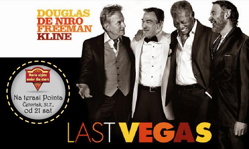 Projekcija komedije 'Last Vegas'