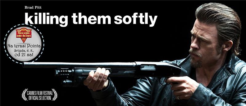 Filmske večeri se nastavljaju - večeras film Killing them softly