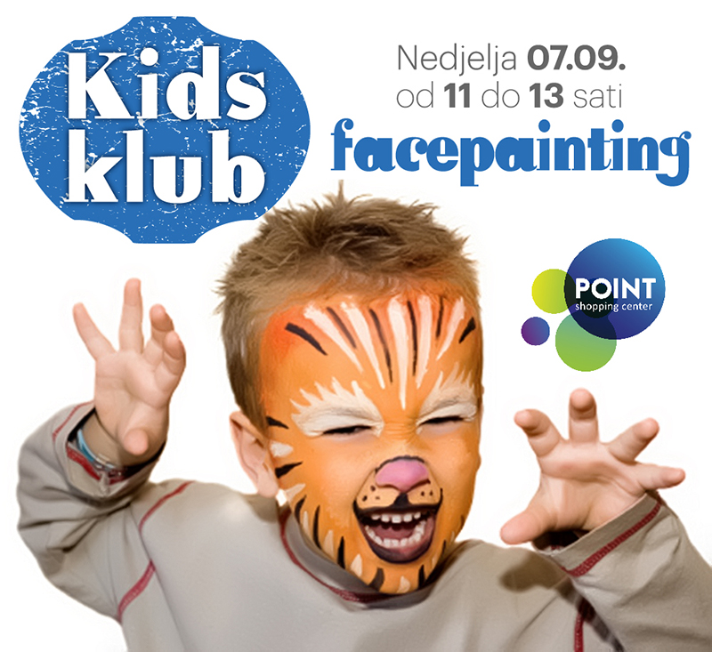 Facepainting Kids klub