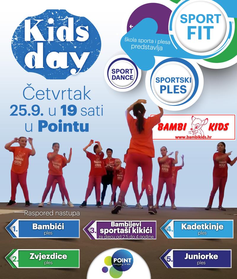 Kids day: SPORTFIT,SPORT DANCE I SPORTSKI PLES