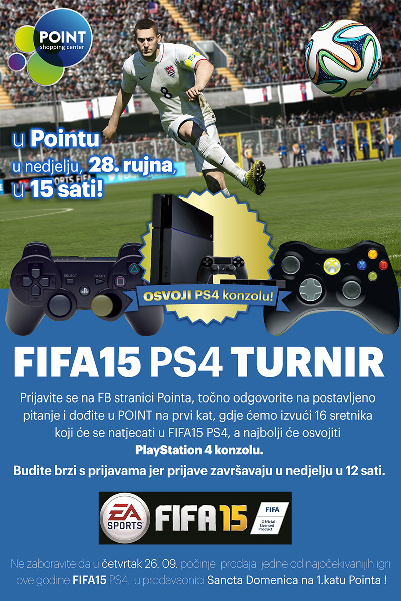 FIFA15 PS4 TURNIR