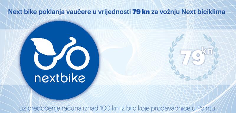 Next bike vam poklanja 79 kuna