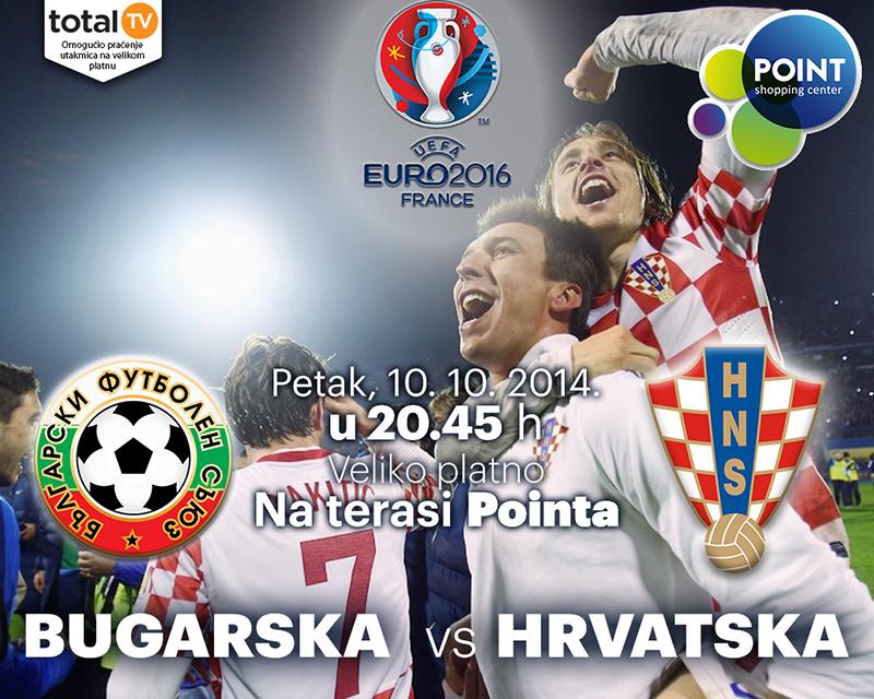 Hrvatska - Bugarska na velikom platnu