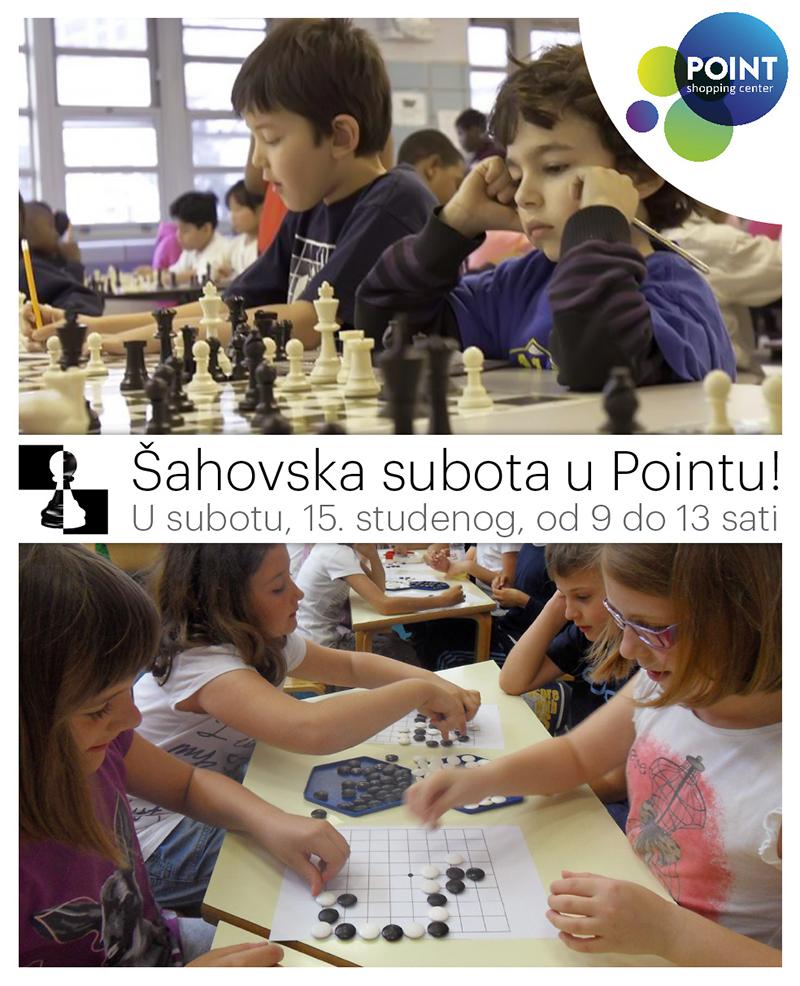 Šahovska subota u Pointu!