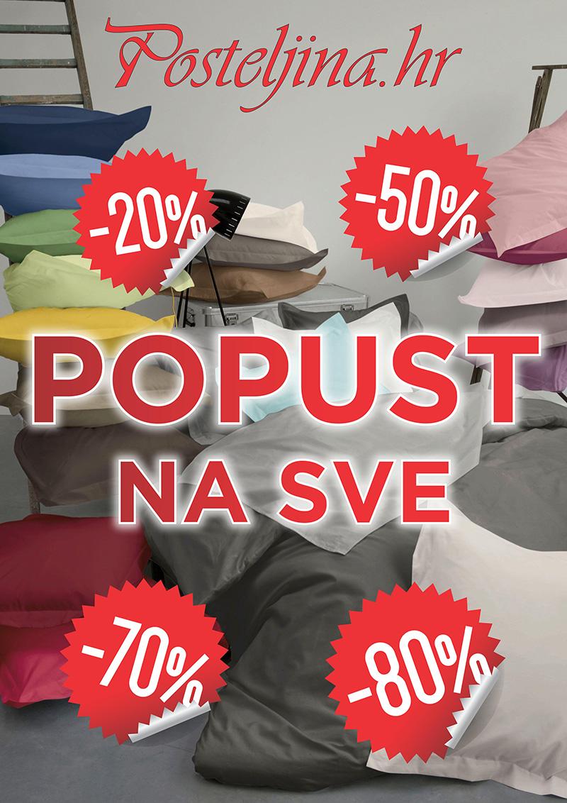 Velika sezonska rasprodaja u Posteljina.hr