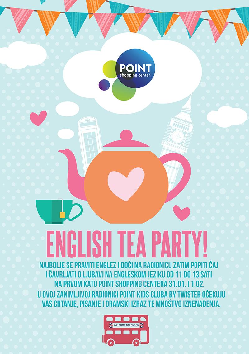 Pozivamo vas na englesku čajanku