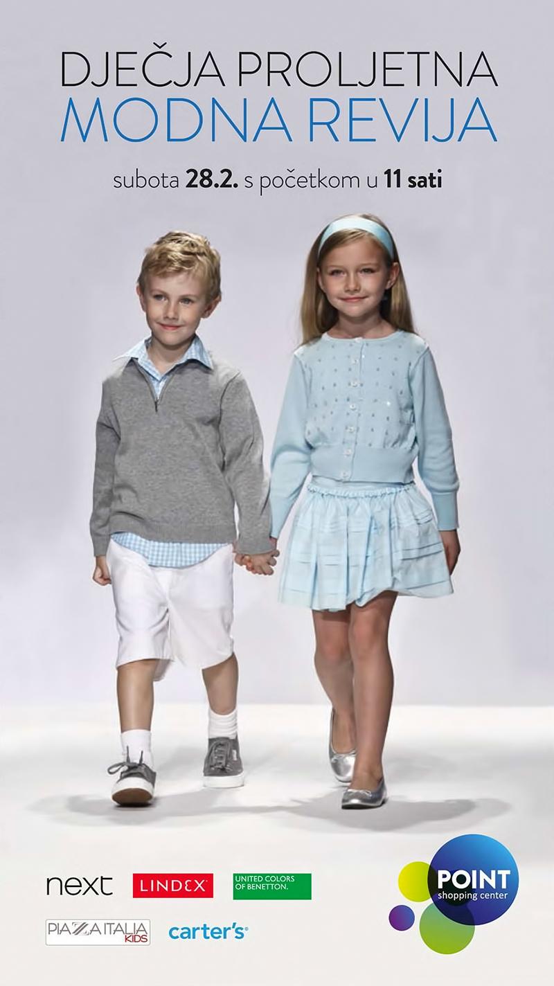 Dječja proljetna modna revija