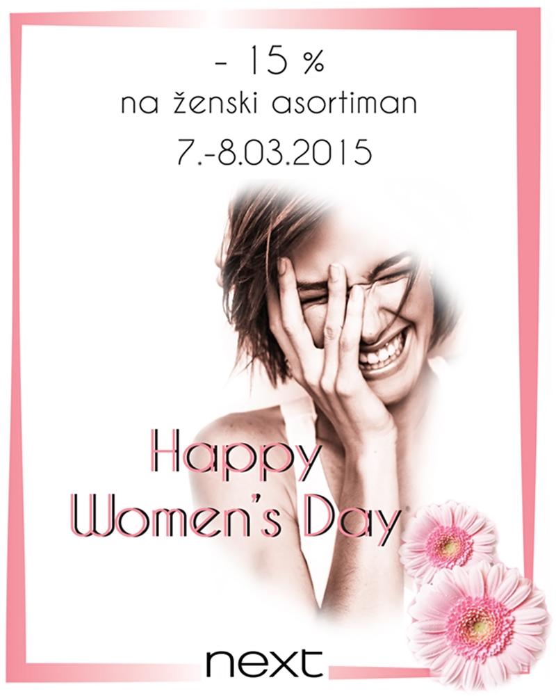 U Nextu prigodni popusti za Dan žena