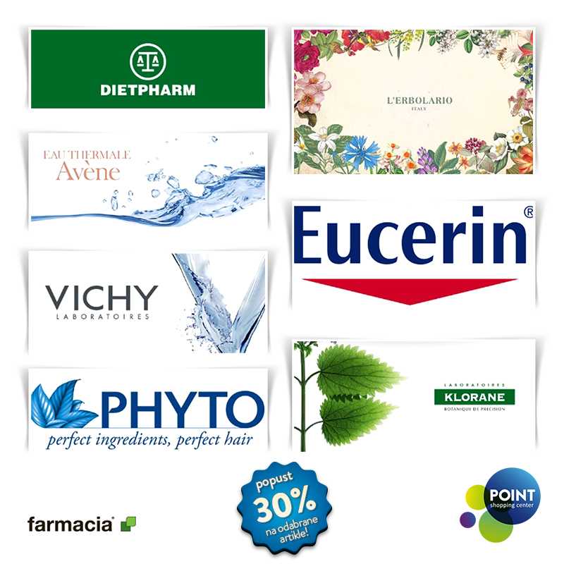 Farmacia ekskluzivan popust 30% na odabrane artikle!