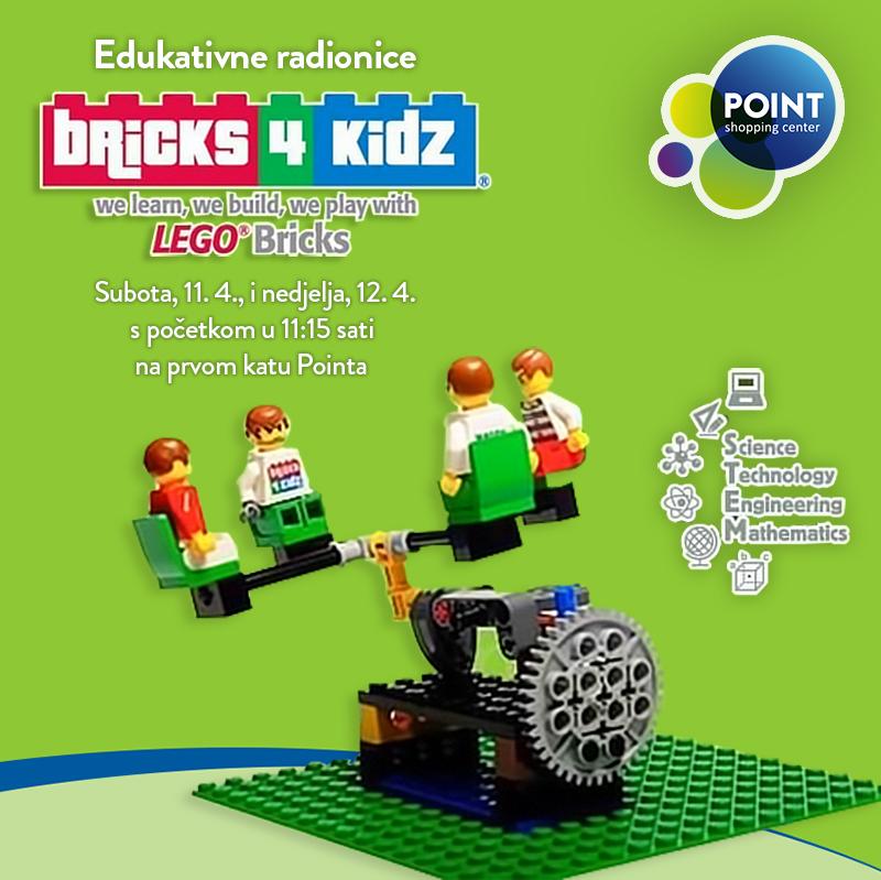 Bricks 4 Kidz radionice