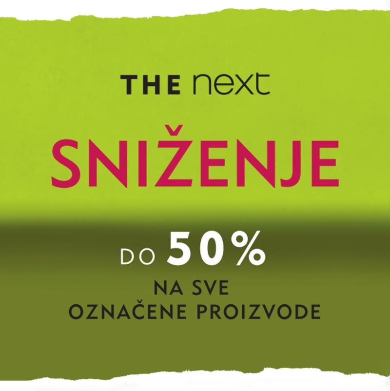Počelo je proljetno sniženje u Nextu od 50%!