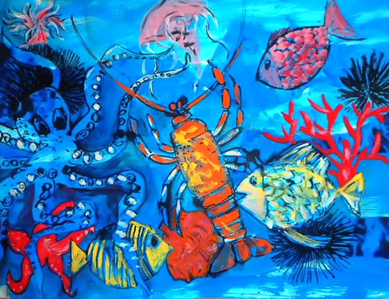 Čarobno podmorje