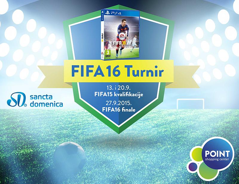 Zatvorene prijave za FIFA16 turnir