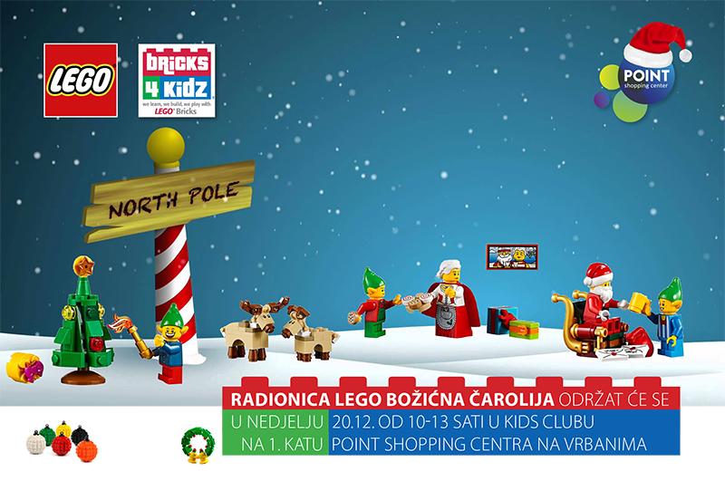 Dječja radionica LEGO božićna čarolija