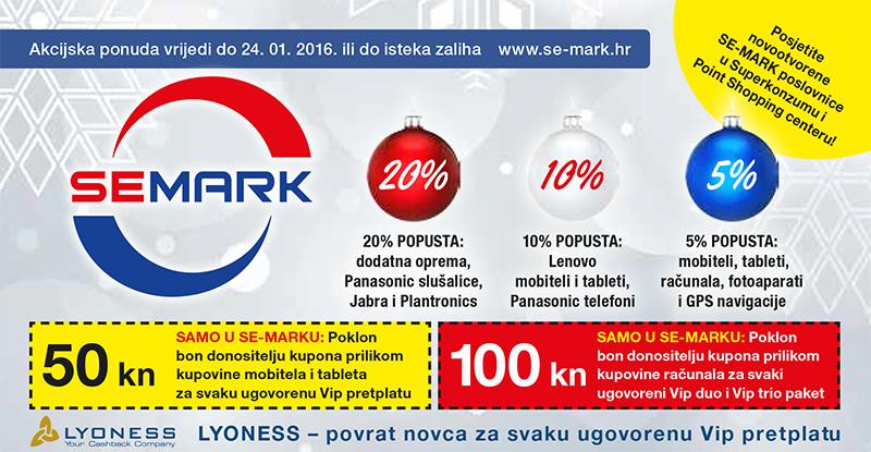 Akcijska ponuda u SE-MARKu