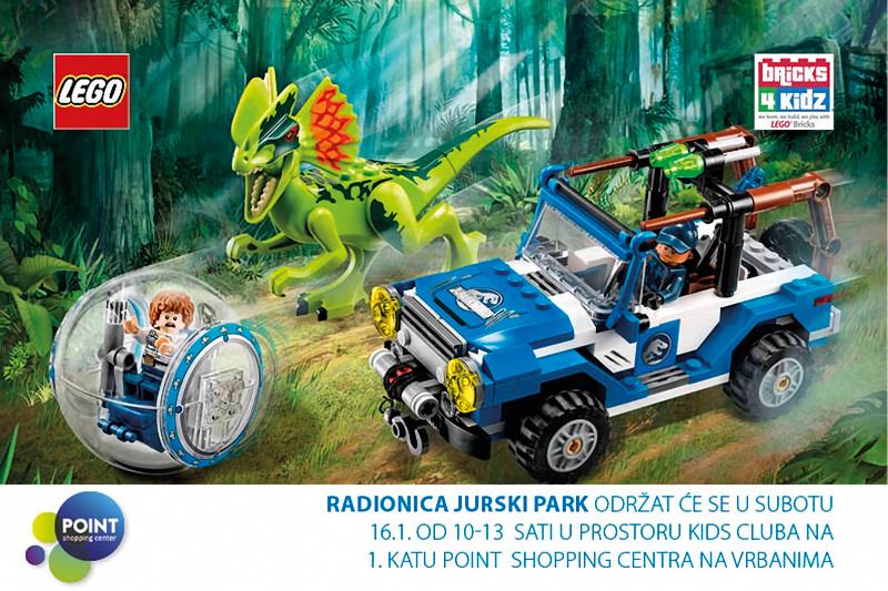 Dječja radionica LEGO Jurski park