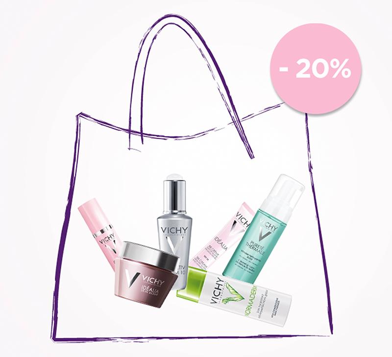 20% popusta na Vichy kozmetiku