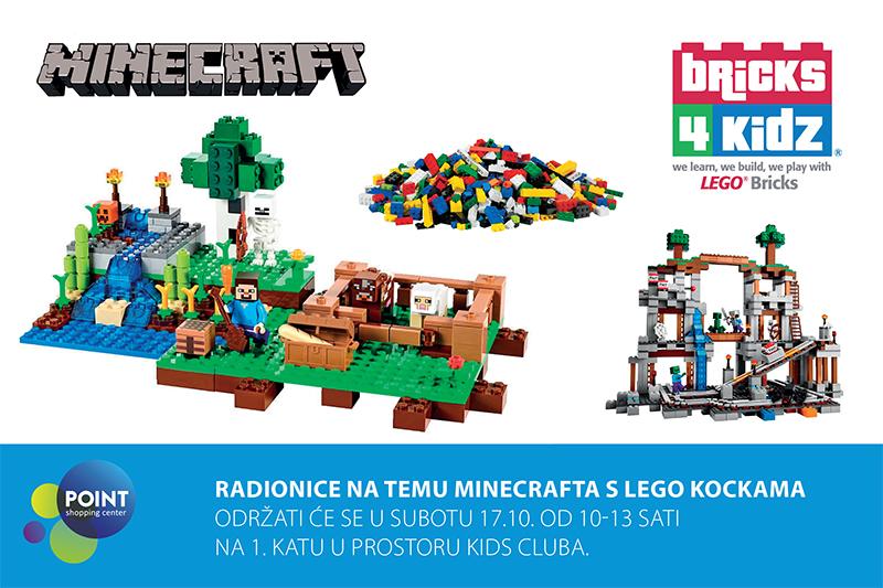 LEGO Minecraft radionica