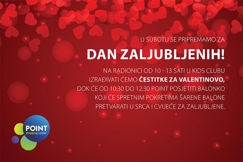 čestitke za valentinovo POINT Shopping Center čestitke za valentinovo